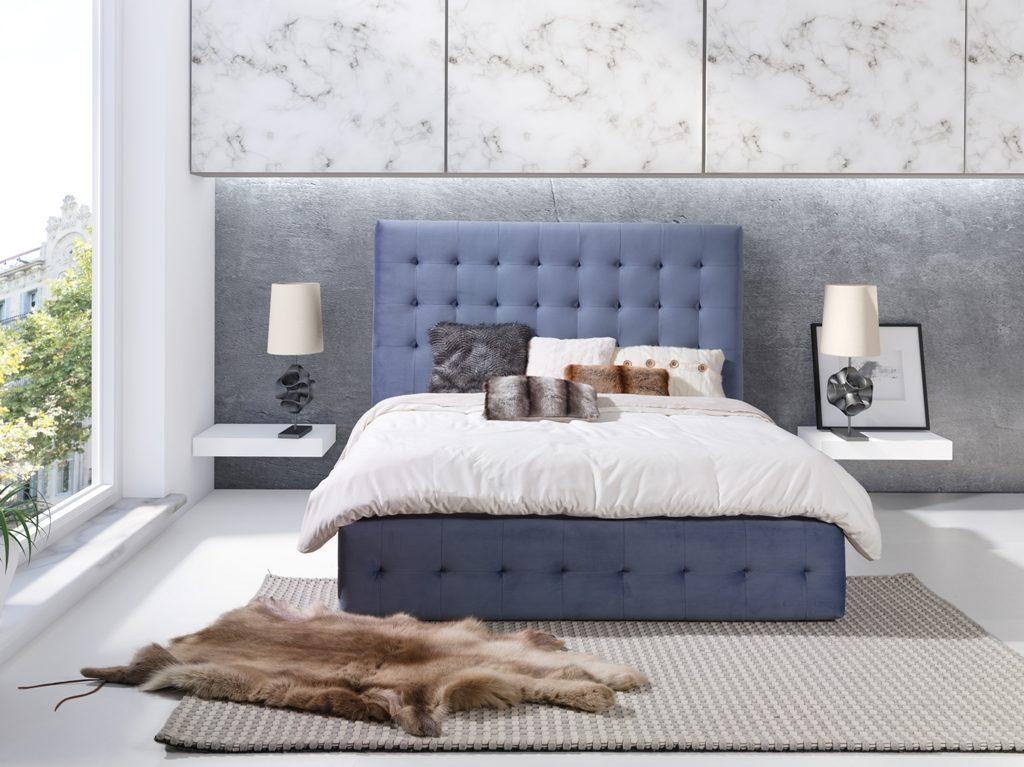 łóżko Pikowane Patrycja Wys 138 Cm