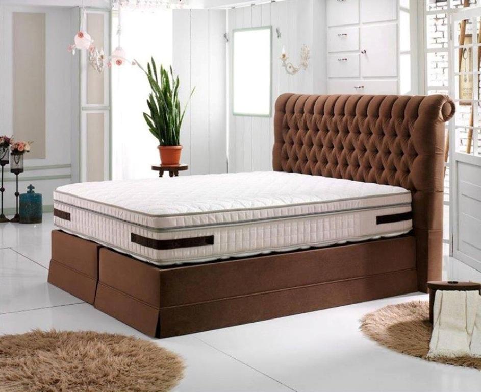 Wenecja łóżko Kontynentalne W Stylu Chesterfield Boxspring